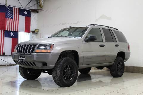 2002 Jeep Grand Cherokee for sale at ROADSTERS AUTO in Houston TX