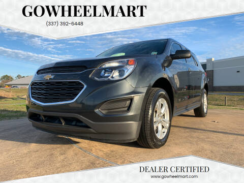 2017 Chevrolet Equinox for sale at GOWHEELMART in Available In LA