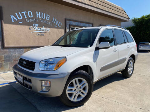 2001 Toyota RAV4 for sale at Auto Hub, Inc. in Anaheim CA