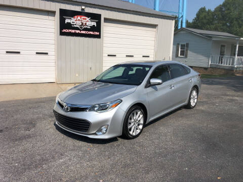 2013 Toyota Avalon for sale at Jack Foster Used Cars LLC in Honea Path SC