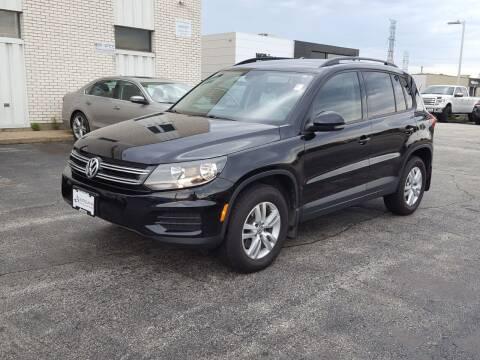 2016 Volkswagen Tiguan for sale at AUTOSAVIN in Elmhurst IL