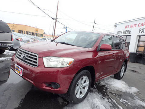 2008 Toyota Highlander for sale at Tommy's 9th Street Auto Sales in Walla Walla WA