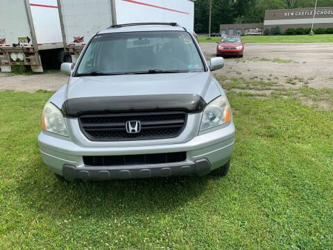 2003 Honda Pilot for sale at Stan's Auto Sales Inc in New Castle PA