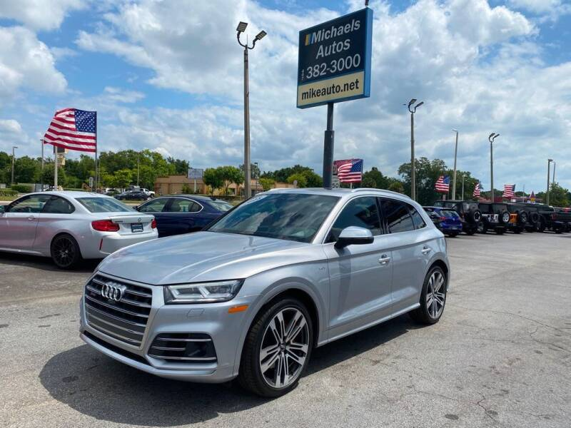 2018 Audi SQ5 for sale at Michaels Autos in Orlando FL