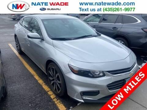 2016 Chevrolet Malibu for sale at NATE WADE SUBARU in Salt Lake City UT