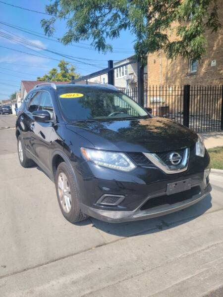 2015 Nissan Rogue for sale at MACK'S MOTOR SALES in Chicago IL
