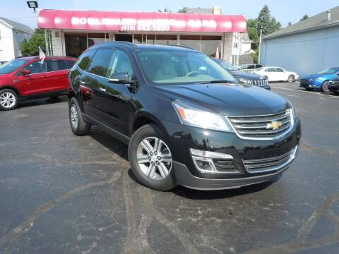 2017 Chevrolet Traverse for sale at Boulevard Used Cars in Grand Haven MI