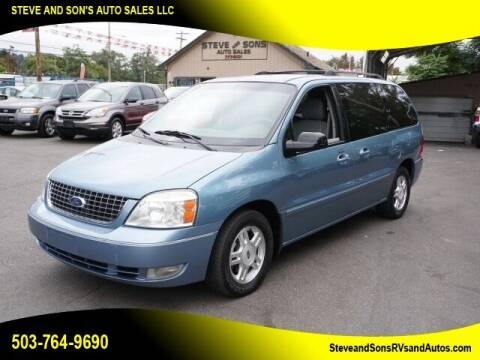 2007 Ford Freestar for sale at Steve & Sons Auto Sales in Happy Valley OR