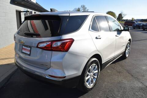 2018 Chevrolet Equinox for sale at Heritage Automotive Sales in Columbus in Columbus IN