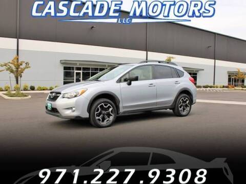 2015 Subaru XV Crosstrek for sale at Cascade Motors in Portland OR