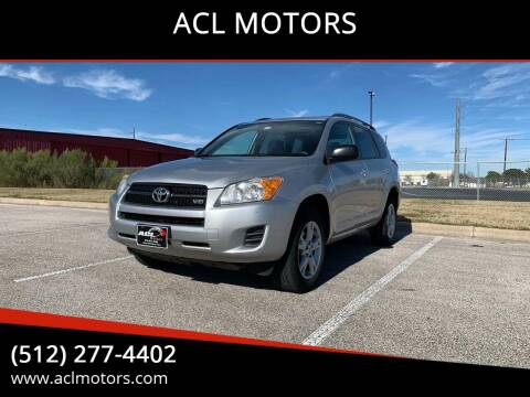 2011 Toyota RAV4 for sale at ACL MOTORS in Austin TX