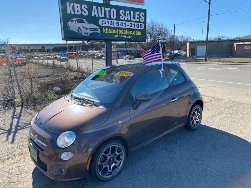 2013 FIAT 500 for sale at KBS Auto Sales in Cincinnati OH