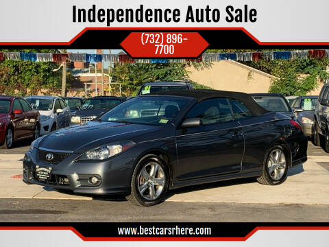 2008 Toyota Camry Solara for sale at Independence Auto Sale in Bordentown NJ