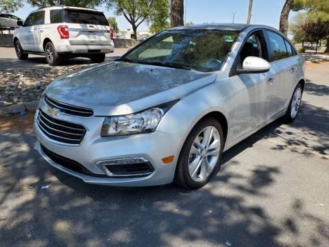 2016 Chevrolet Cruze Limited for sale at Matador Motors in Sacramento CA