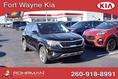 2021 Kia Seltos for sale at BOB ROHRMAN FORT WAYNE TOYOTA in Fort Wayne IN
