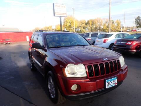 2007 Jeep Grand Cherokee for sale at Marty's Auto Sales in Savage MN