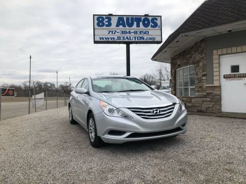 2013 Hyundai Sonata for sale at 83 Autos in York PA