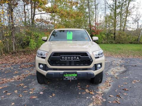 2017 Toyota Tacoma for sale at L & R Motors in Greene ME