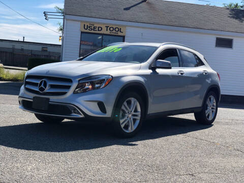2016 Mercedes-Benz GLA for sale at HYANNIS FOREIGN AUTO SALES in Hyannis MA