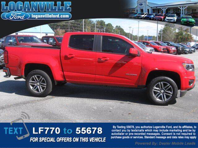 2019 Chevrolet Colorado for sale at Loganville Quick Lane and Tire Center in Loganville GA