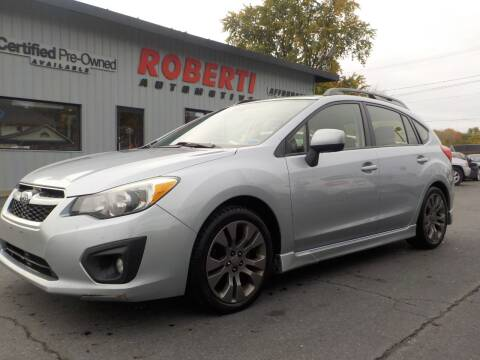 2014 Subaru Impreza for sale at Roberti Automotive in Kingston NY