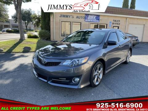 2014 Toyota Camry for sale at JIMMY'S AUTO WHOLESALE in Brentwood CA