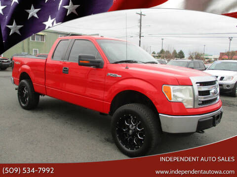 2013 Ford F-150 for sale at Independent Auto Sales #2 in Spokane WA