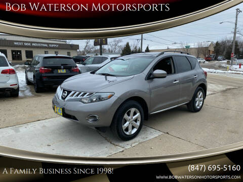 2010 Nissan Murano for sale at Bob Waterson Motorsports in South Elgin IL
