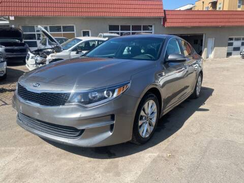 2017 Kia Optima for sale at STS Automotive in Denver CO