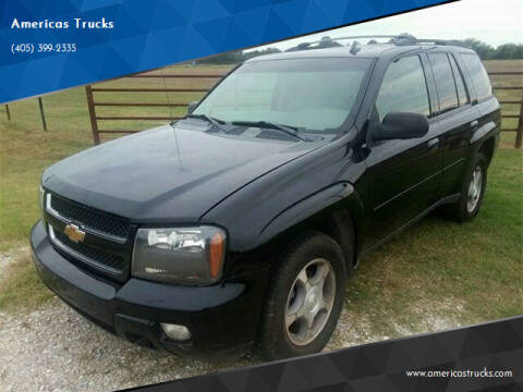 2008 Chevrolet TrailBlazer for sale at Americas Trucks in Jones OK