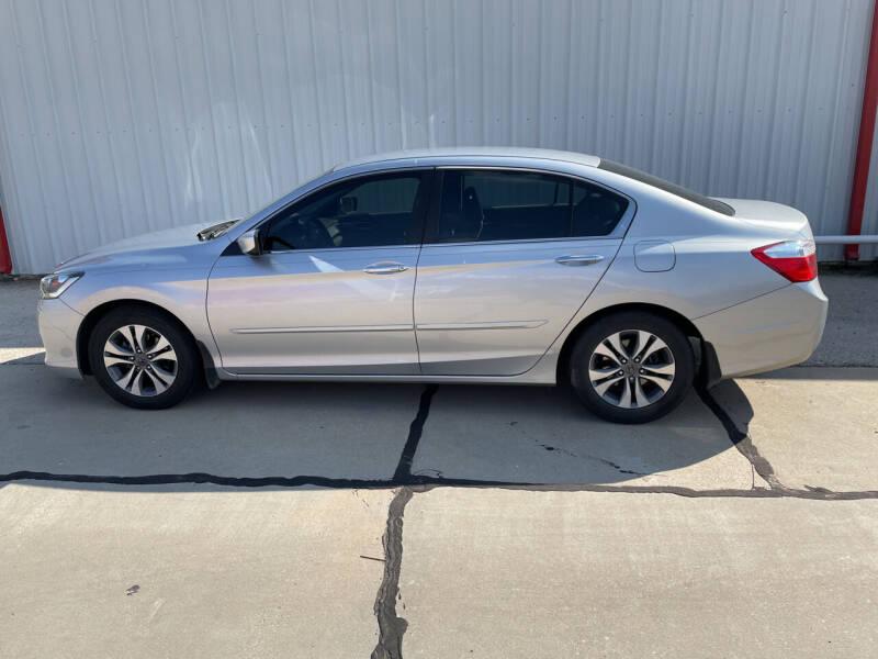 2013 Honda Accord for sale at WESTERN MOTOR COMPANY in Hobbs NM