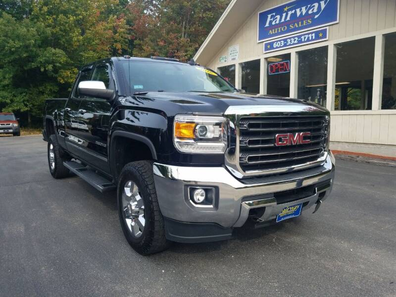 2016 GMC Sierra 2500HD for sale at Fairway Auto Sales in Rochester NH