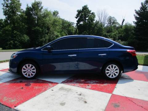 2017 Nissan Sentra for sale at TEAM ANDERSON AUTO GROUP INC in Richmond IN