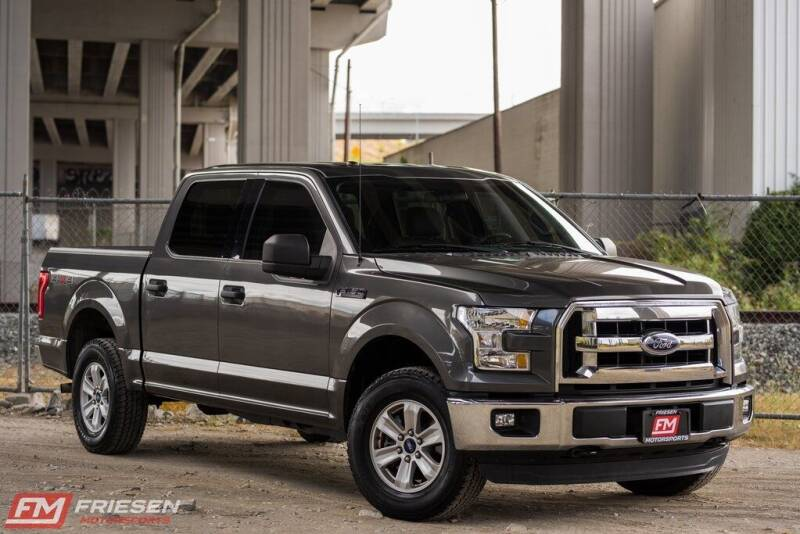 2016 Ford F-150 for sale at Friesen Motorsports in Tacoma WA