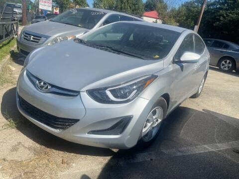 2014 Hyundai Elantra for sale at Copeland's Auto Sales in Union City GA