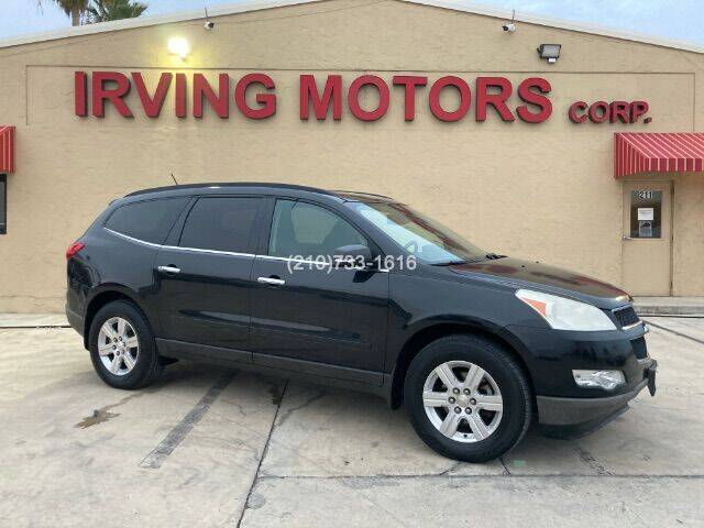 2011 Chevrolet Traverse for sale at Irving Motors Corp in San Antonio TX