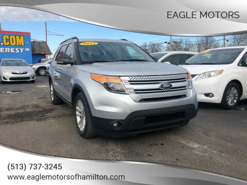 2011 Ford Explorer for sale at Eagle Motors in Hamilton OH