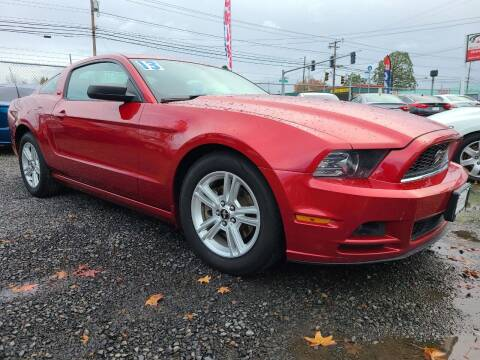 2013 Ford Mustang for sale at Universal Auto Sales in Salem OR