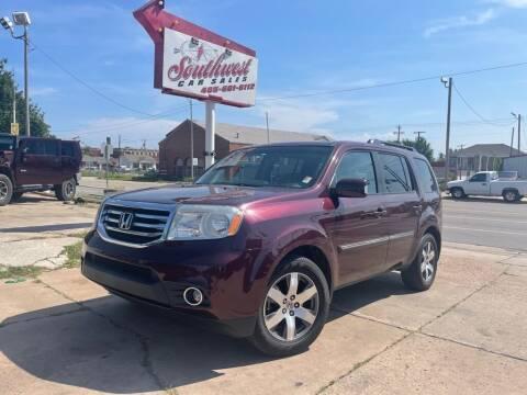 2014 Honda Pilot for sale at Southwest Car Sales in Oklahoma City OK