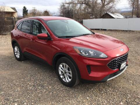 2020 Ford Escape for sale at Northwest Auto Sales & Service Inc. in Meeker CO