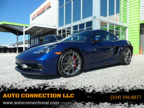 2021 Porsche 718 Cayman for sale at AUTO CONNECTION LLC in Montgomery AL