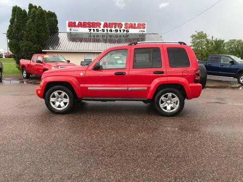 2005 Jeep Liberty for sale at BLAESER AUTO LLC in Chippewa Falls WI