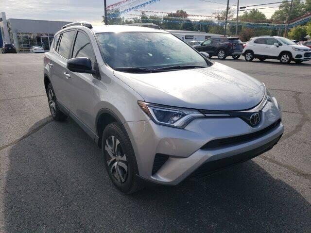 2018 Toyota RAV4 for sale at LeMond's Chevrolet Chrysler in Fairfield IL