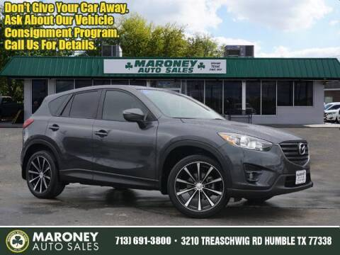 2016 Mazda CX-5 for sale at Maroney Auto Sales in Humble TX