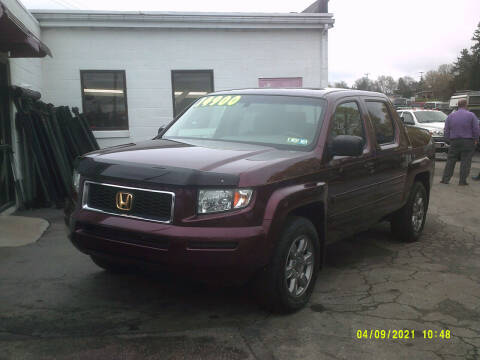 2007 Honda Ridgeline for sale at M & M Inc. of York in York PA