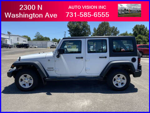 2016 Jeep Wrangler Unlimited for sale at Auto Vision Inc. in Brownsville TN