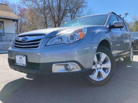 2011 Subaru Outback for sale at Mega Motors in West Bridgewater MA