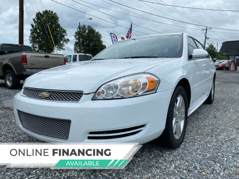 2014 Chevrolet Impala Limited for sale at Auto Store of NC in Walkertown NC