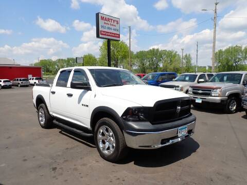 2010 Dodge Ram Pickup 1500 for sale at Marty's Auto Sales in Savage MN