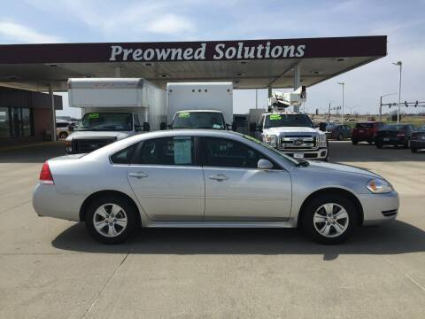 2013 Chevrolet Impala for sale at Preowned Solutions in Urbandale IA